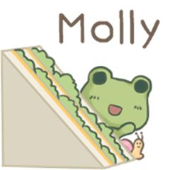 Dame frog - for [Molly] Exclusive
