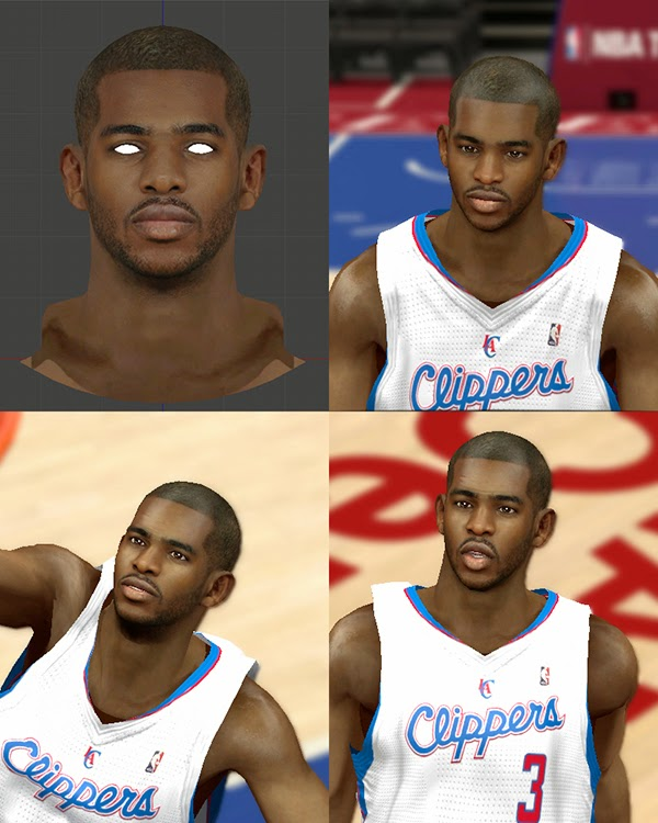 Chris Paul CP3 Cyberface Update