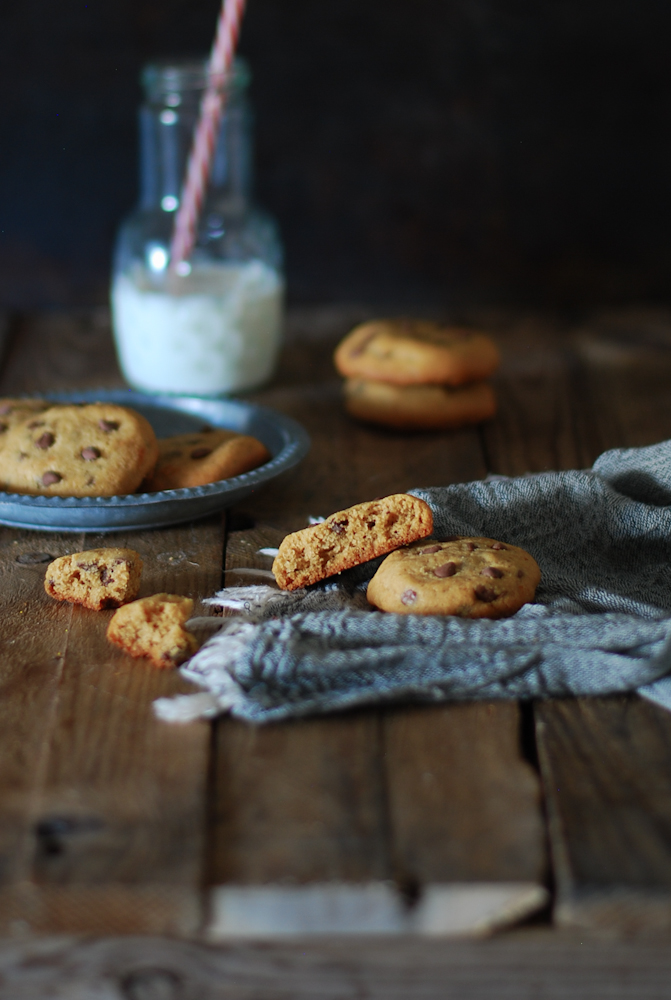 peanut-butter-chocolaie-chip-cookies-mantequilla-cacahuete-dulces-bocados