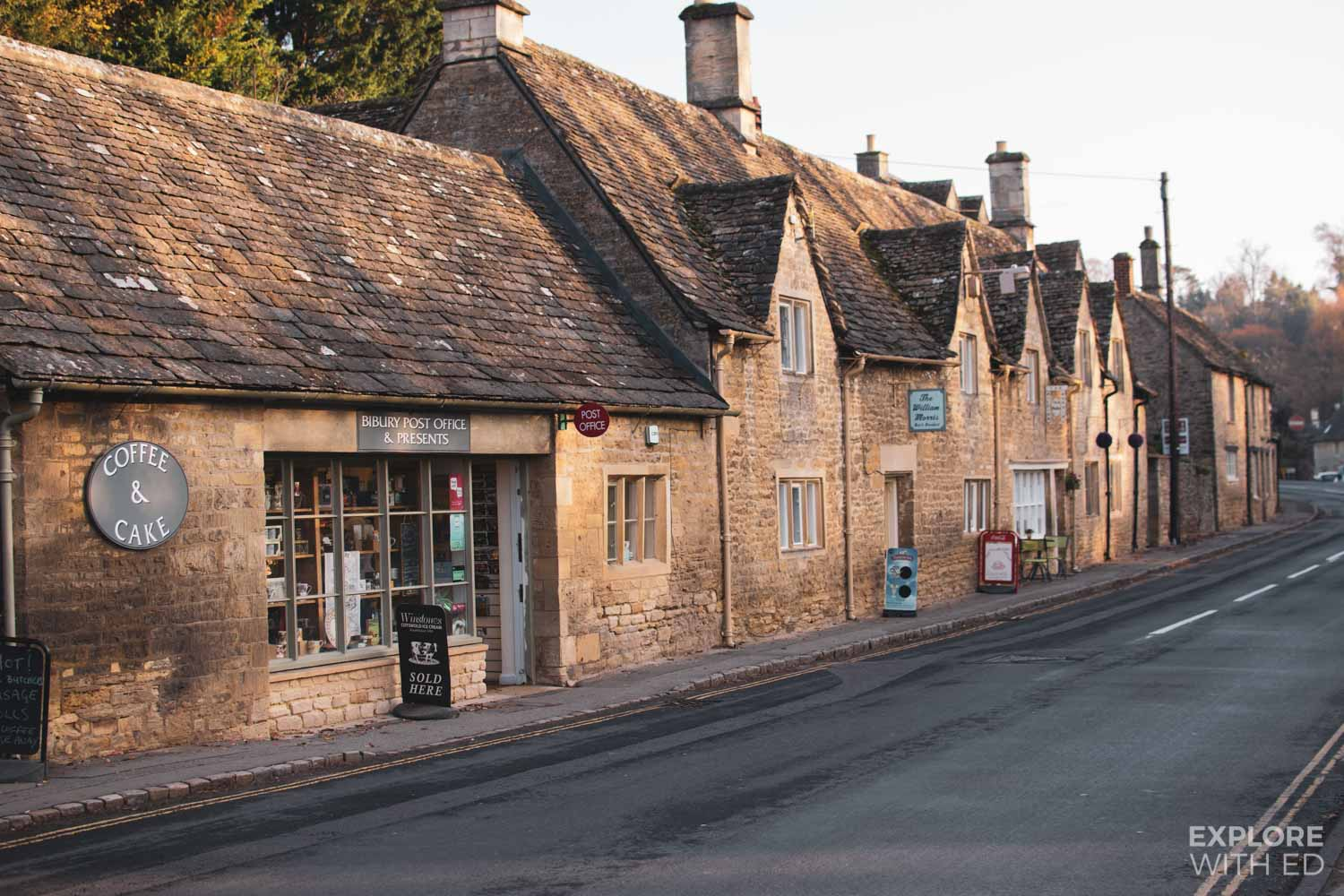 Bibury post office and presents