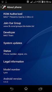 Sony Xperia Z for SKK LYNX