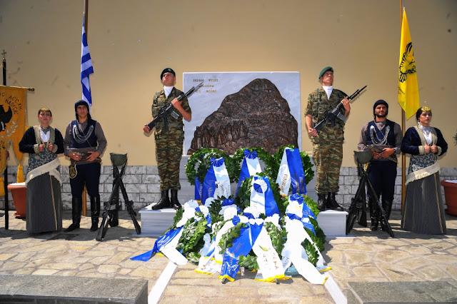 Αποκαλυπτήρια του νέου Μνημείου της Γενοκτονίας του Ποντιακού Ελληνισμού στην Επισκοπή Νάουσας