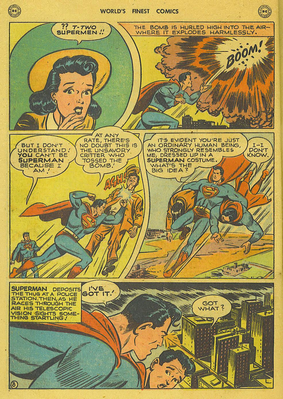 Read online World's Finest Comics comic -  Issue #34 - 10