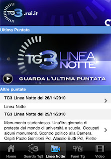 L'app del TG3 per iPhone e iPad