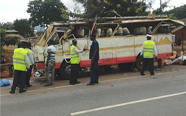 Kwahu: Nkawkaw accident, death toll now 11
