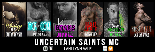 Resultado de imagem para Uncertain Saints MC livro 1- Lani Lynn Vale