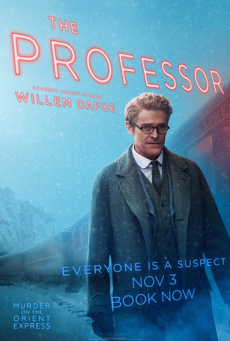 MURDER ON THE ORIENT EXPRESS Character Posters