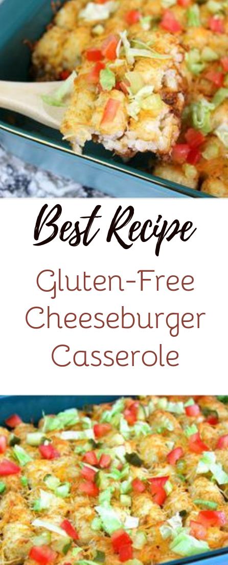 Gluten-Free Cheeseburger Casserole #dinnerrecipe #food