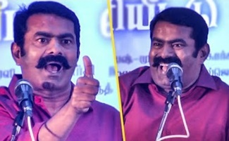 Seeman singing song at stage | Bharathiraja , Vairamuthu