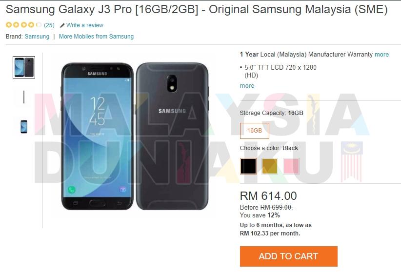 5 Smartphone Samsung Android 70 Nougat Termurah 2018