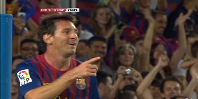 Joan Gamper : Barcelona 5 vs 0 Napoli 22-08-2011