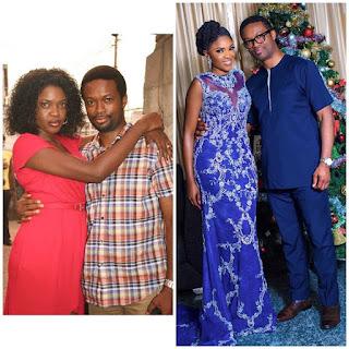 'Ageless' Actress Omoni Oboli And Her Husband's 10 Years Throwback Photo