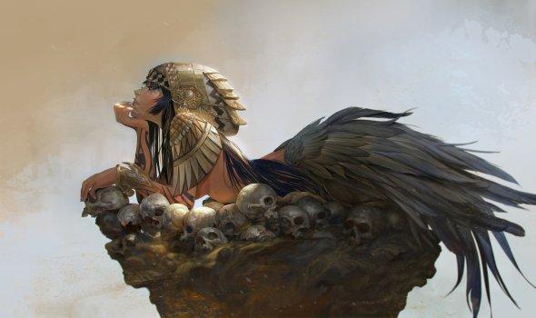 Rudy Siswanto artstation deviantart arte ilustrações fantasia games