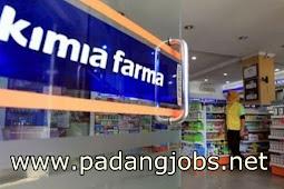 Lowongan Kerja Padang: Apotik Kimia Farma Mei 2018
