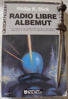 Portada del libro Radio Libre Albemut, de Philip K. Dick