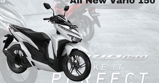 Honda All New Vario 150 Tahun 2018