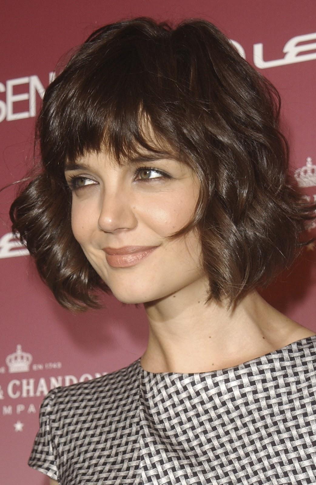 Celebrity Hairstyles Katie Holmes