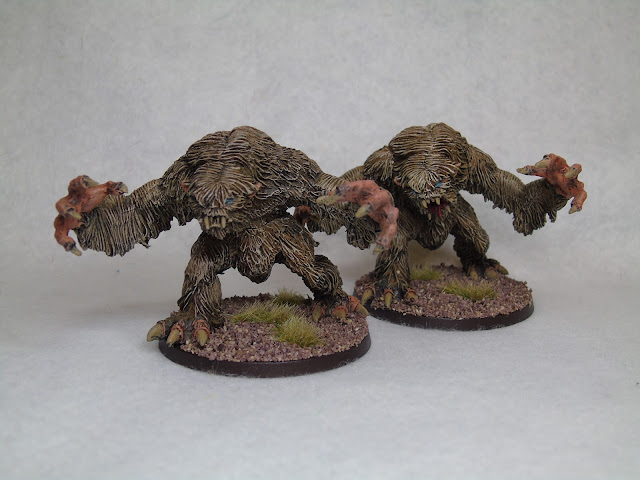 heresy miniatures snow trolls frostgrave