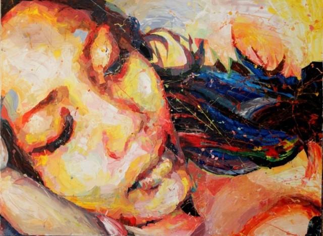 Акриловые картины. Henri Lamy 18