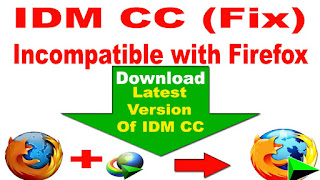 Idm cc for firefox