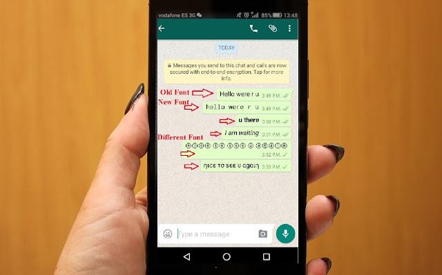 Menghapus Pesan yang Terkirim di WhatsApp