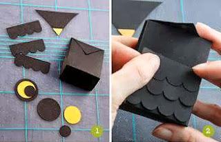 Cara Membuat Kerajinan Tangan Dari Kertas, Burung Hantu Kertas 1