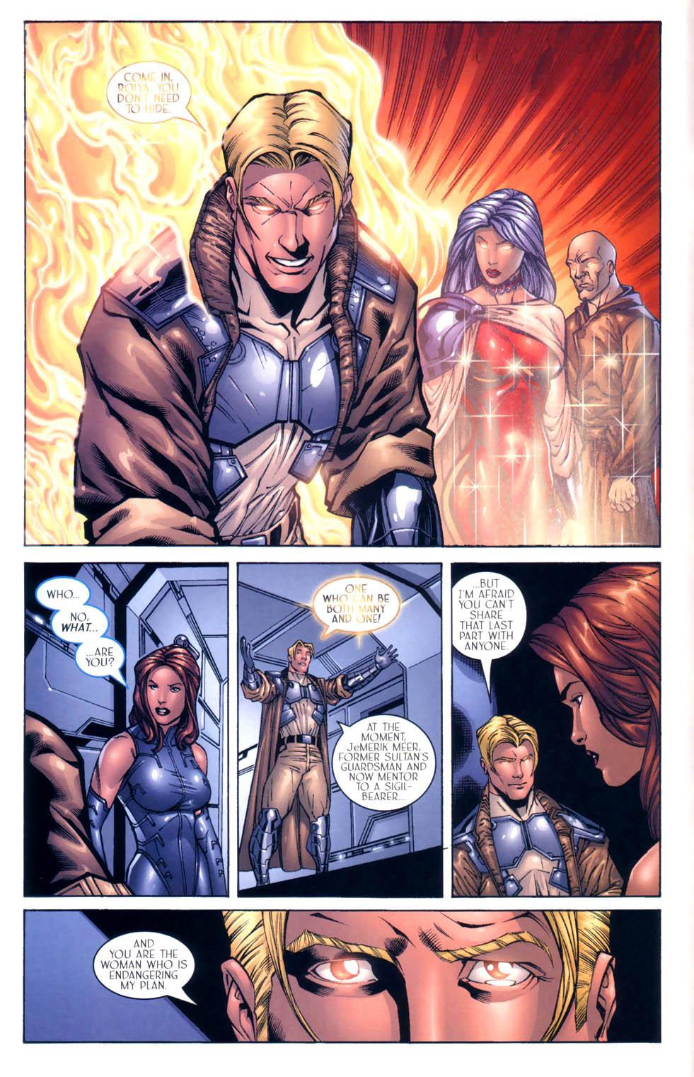 Read online Sigil (2000) comic -  Issue #9 - 17