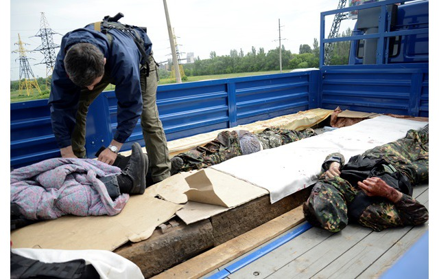 Біля Донецького аеропорту знищили кількох диверсантів-камікадзе