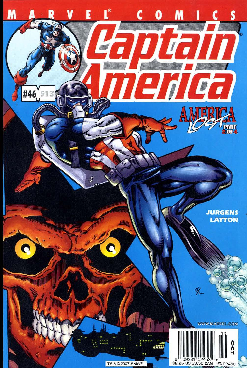 Captain America (1998) 46 Page 1