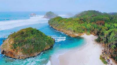 Lokasi Dan Rute Ke Pantai Kedung Celeng Malang