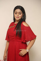 Poorna in Maroon Dress at Rakshasi movie Press meet Cute Pics ~  Exclusive 160.JPG