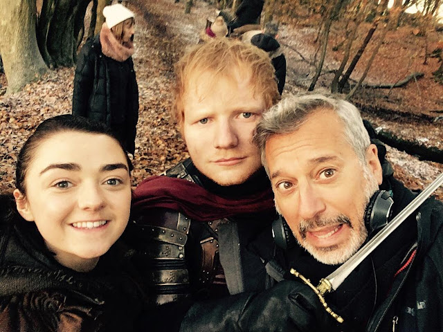 Ed Sheeran faz aparição no primeiro episódio da nova temporada de 'Game of Thrones'