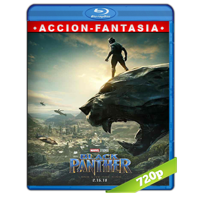 Pantera Negra (2018) BRRip 720p Audio Trial Latino-Castellano-Ingles 5.1