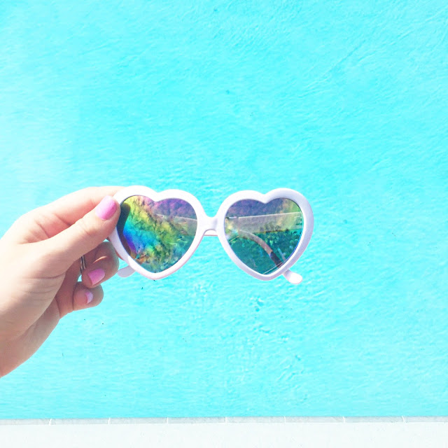 cheap heart sunglasses