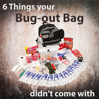 6 Things your bug-out bag didn't come with