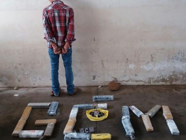 Guarda Municipal de Campo Grande (MS) prende menor com maconha e 3 kg de haxixe