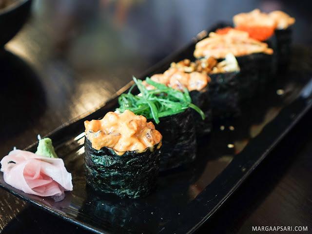 Jyu Gunkan Moriawase Sushi Nobu (Shabu Nobu)