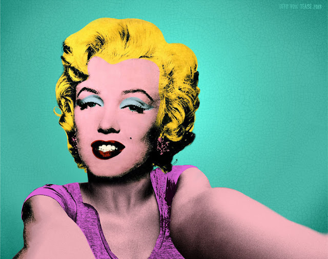 Turquoise Marilyn - Andy Warhol, 1962