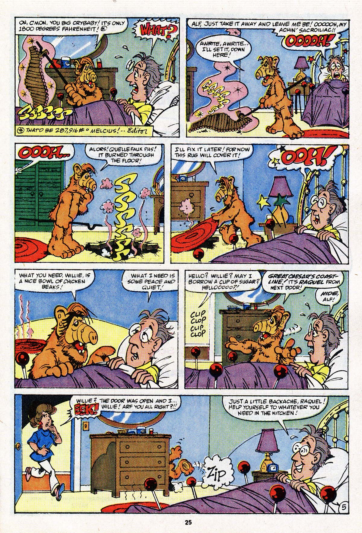 Read online ALF comic -  Issue #18 - 20