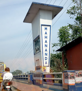 Road bridge over Mahananda