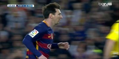 LFP-Week-33 : Barcelona 1 VS 2 Valencia 17-04-2016