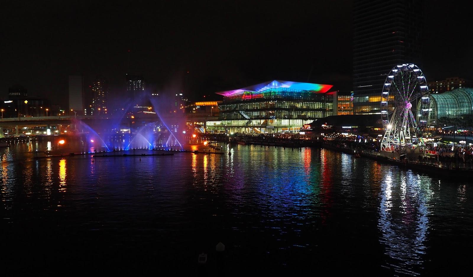 Vivid Sydney Darling Harbour