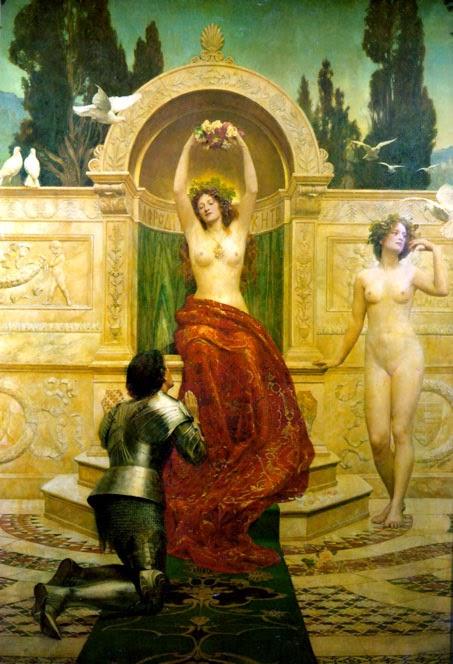 No Tannhauser Venusberg - Jhon Collier e suas pinturas belíssismas | Neoclassicismo