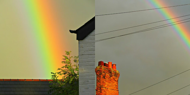 Rainbows over the rooftops