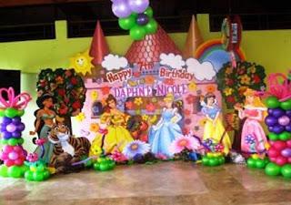 Dekorasi Ulang Tahun Anak Perempuan Tema Princess 6