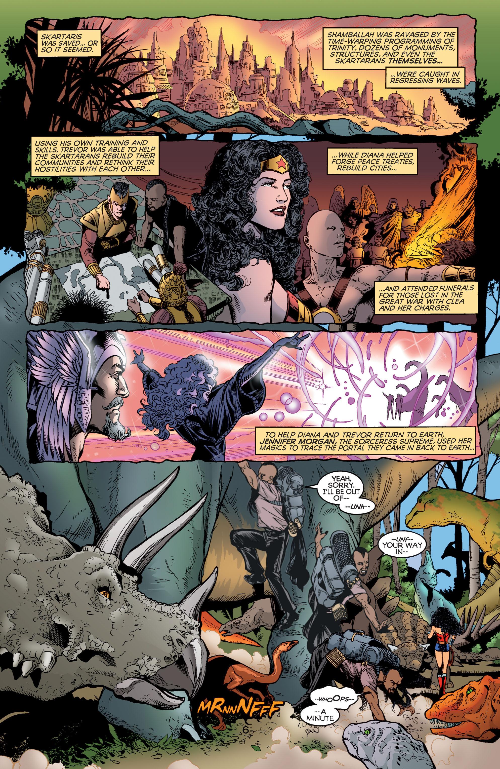 Read online Wonder Woman (1987) comic -  Issue #184 - 6