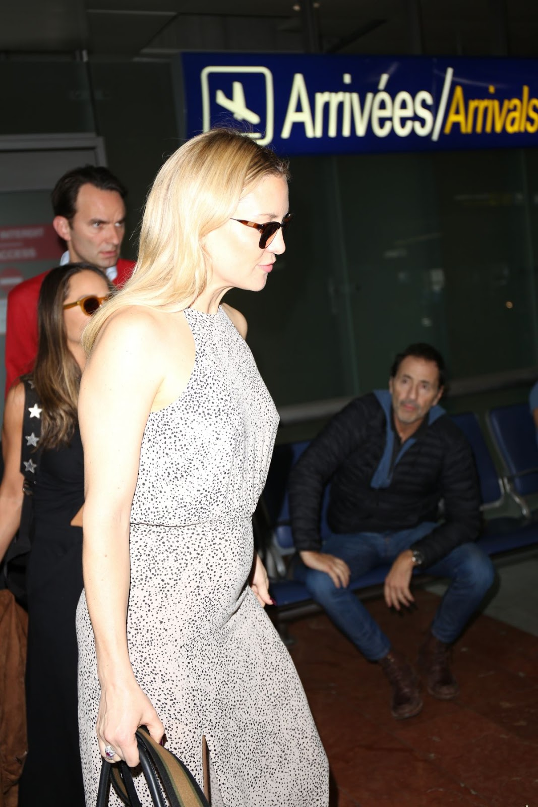 HQ Photos of Kate Hudson Arrives At Nice Airport