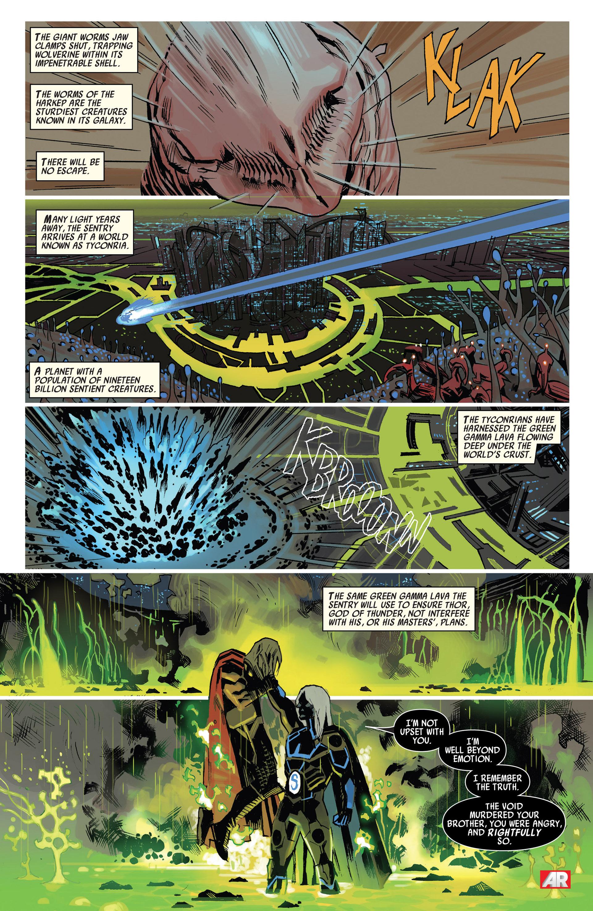 Read online Uncanny Avengers (2012) comic -  Issue #10 - 18