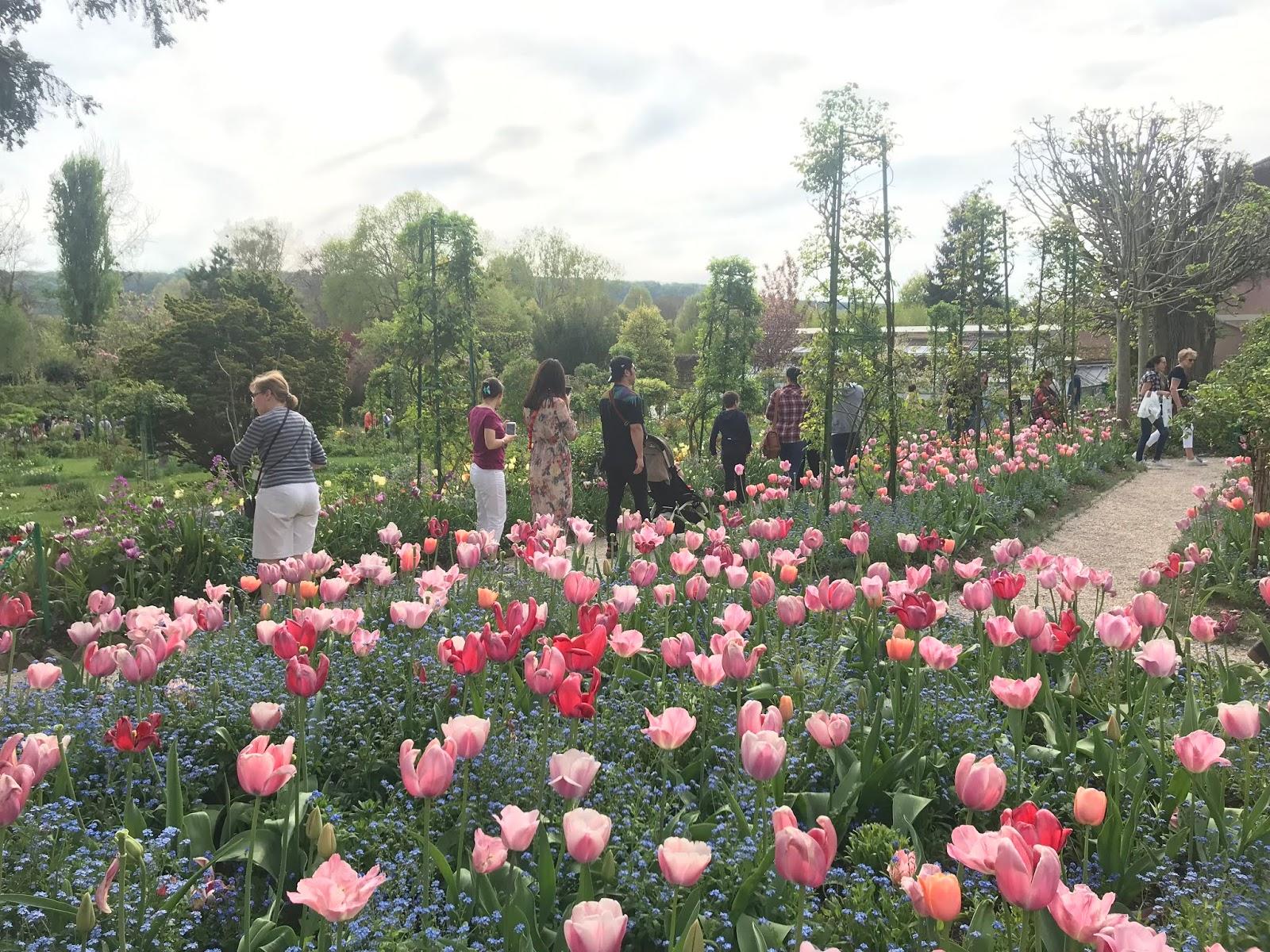 Monet puutarha, Giverny