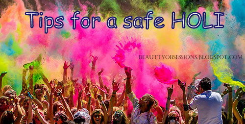 Few Tips To Follow For A Safe Holi ...!!!